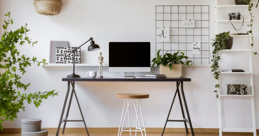 work from home station